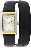 Nanette Lepore Emma Leather Strap Watch, 22 x 29mm