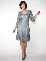 Soulmates C903 3/4 Bell-Sleeve Dress