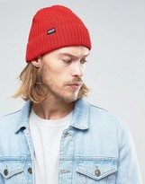 Patagonia Fisherman's Rolled Beanie In Red