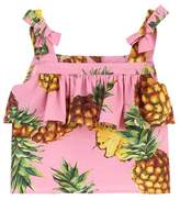 Dolce & Gabbana Pineapple Print Top