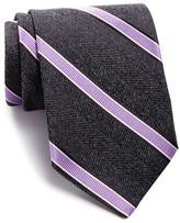 John W. Nordstrom Frost Stripe Silk Tie