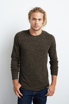 Wallace Raw Edge Marled Jersey Shirt