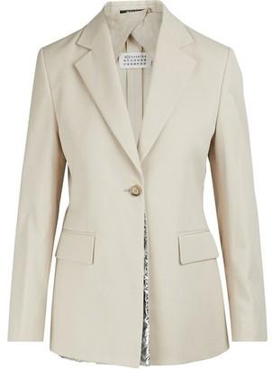 Maison Margiela Resistant cotton blazer