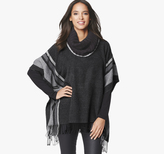 Johnston & Murphy Cowl Neck Poncho