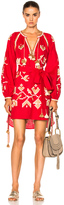 March 11 Flora Embroidered Mini Dress