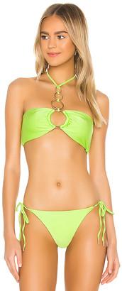 Cult Gaia Allie Bikini Top
