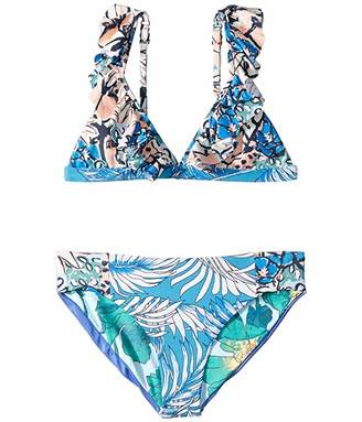 Maaji Kids Oliveira Frills Bikini (Toddler/Little Kids/Big Kids) (Multicolor) Girl's Swimwear Sets