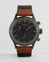 Timex Waterbury Chronograph Tweed Watch