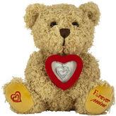 FINE JEWELRY ForeverMine Teddy Bear Box Set 1/10 CT. T.W. Diamond Sterling Silver Heart Necklace