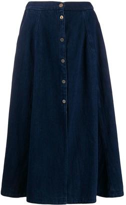 Forte Forte Buttoned Full Skirt