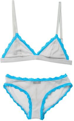 Cosabella Celine Lace Trim Bralette & Panty 2-Piece Set