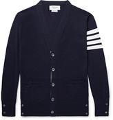 Thom Browne - Striped Wool Cardigan
