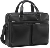 Porsche Design Men's Leather Briefcase - Black