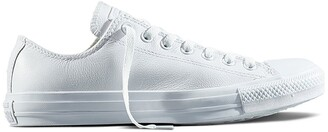 Converse Chuck Taylor All Star Ox Mono Leather Low Top Trainers