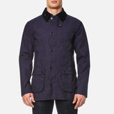 Barbour Washed Bedale Jacket Dark Navy