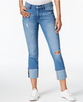 Buffalo David Bitton Faith Ripped Cropped Jeans