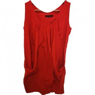 Tara Jarmon Red Silk Dress for Women