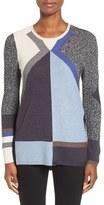 Nic+Zoe Women's Haiku Colorblock Knit Top