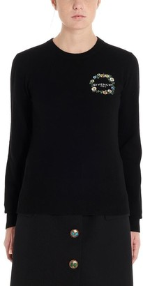 Givenchy Slim Fit Logo Sweater