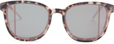 Christian Dior Step mirrored acetate sunglasses