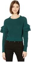 BCBGeneration Pullover Sweater TQG5254205 (Dark Green) Women's Clothing