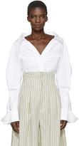 Jacquemus White la Chemise Beauduc Shirt