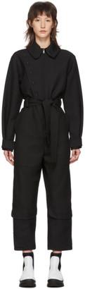 Stella McCartney Black Wool Military Jumpsuit