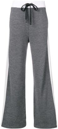 NO KA 'OI Wide Side Stripe Joggers