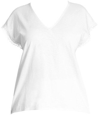 Joan Vass, Plus Size Solid Tee