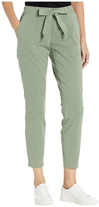Vineyard Vines High-Waist Skinny Utility Pants (Sage Olive) Women's Casual Pants