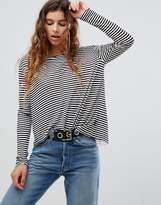 Cheap Monday Surplus Long Sleeved Asymmetric Top