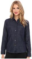 DL1961 Jenny Fitted Denim Shirt