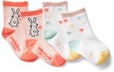 Gap Bunny love socks (2-pairs)