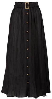 Lisa Marie Fernandez Belted maxi skirt