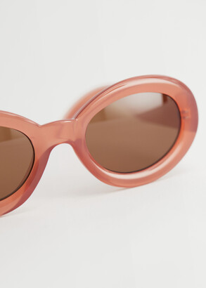 And other stories Almond Rounded Frame Sunglasses