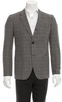 Marc Jacobs Glen Plaid Two-Button Blazer