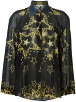 Versace loose fit star shirt