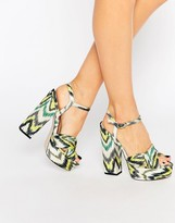Asos HOT SPRINGS Platform Sandals