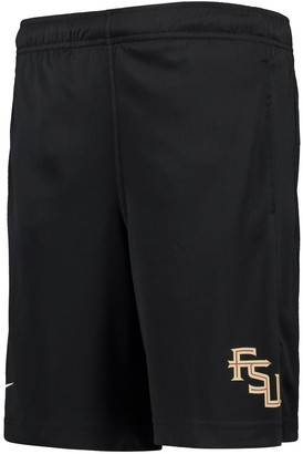 Nike Youth Black Florida State Seminoles Fly 2.0 Performance Shorts