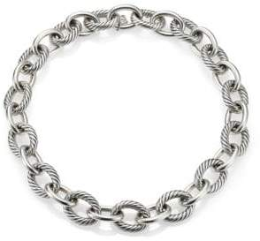 David Yurman Oval Extra-Large Link Necklace/17""