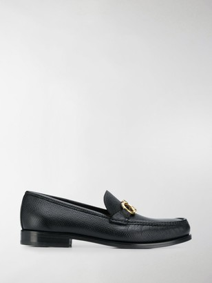 Salvatore Ferragamo Rolo leather loafers