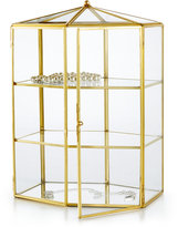 Home Design Studio Metal-Trimmed Glass Jewelry Box, Only at Macy's