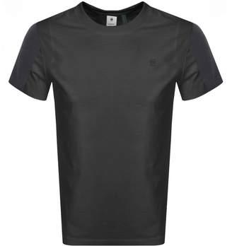 G Star Raw Motac Logo T Shirt Grey