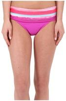 Athena Bermuda Sunrise Banded Pant