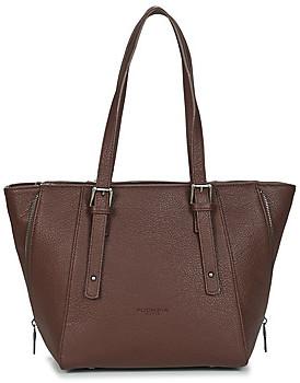 Fuchsia F9927 women's Shoulder Bag in Brown