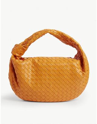 Bottega Veneta Jodie Intreccio weave leather shoulder bag
