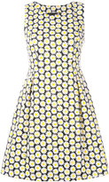 Love Moschino daisy print dress - women - Cotton/Spandex/Elastane - 44