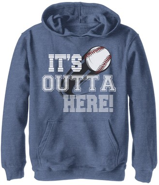 Fifth Sun Boys 8-20 Its Outta Here Graphic Hoodie