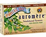 Auromere Bar Soap Sandlwd Turmeric 2.75 Oz