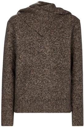 Deveaux Mia wool-blend sweater